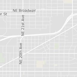 Map of SmartPark Garages | The City of Portland, Oregon